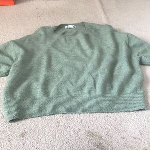 Label of Graded Goods Green Sweater, super soft!!